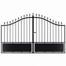 portail en fer 4 metres pas cher portail en fer forg 233 gladys 3m noir hauteur 1 73m
