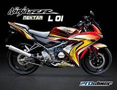 Modif Rr 150 New by Striping 150 Rr New Merah Modifikasi Prostiker
