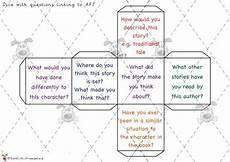 teacher s pet reading question dice premium printable game activity eyfs ks1 ks2