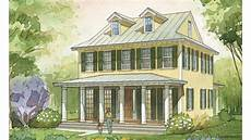 cottage living magazine house plans center hall cottage cottage living southern living