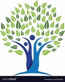 Familie Symbol - family tree symbol icon design royalty free vector image