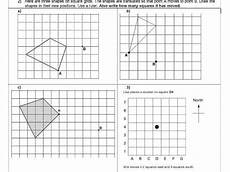 shapes worksheets ks2 1153 translation geometry position of shape ks2 year 5 6 worksheet only with images
