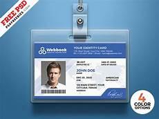id card template gratis free id card template psd set by psd freebies dribbble