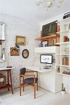Office In Living Room Ideas
