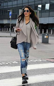 amal clooney style amal clooney s maternity fashion see best looks