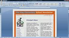 how to make a newspaper in microsoft word 2007 with images resume template word