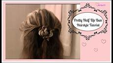 Easy Trendy Half Up Bun Hairstyle Tutorial