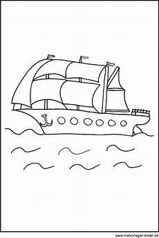 malvorlagen segelboote kinder coloring and malvorlagan