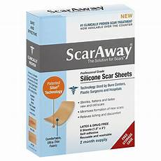 scaraway 174 8 count silicone scar sheets bed bath beyond