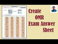 how to create omr sheet in ms word in hindi step wise