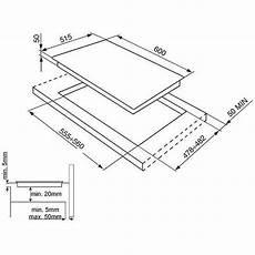 piano cottura misure smeg si5642d piano cottura a induzione 60 cm 4 zone