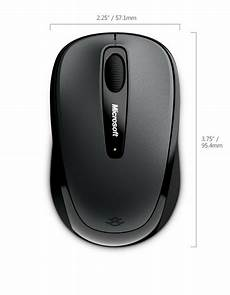 microsoft wireless mobile mouse 3500 gray pn gmf 00006