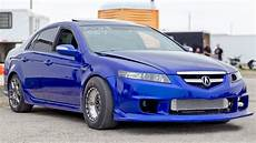 a turbo acura tl that s a first for us 1320video com