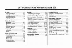 car owners manuals free downloads 2006 cadillac cts v instrument cluster cadillac cts 2014 owner s manual pdf download
