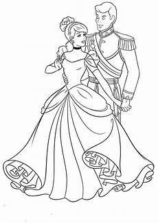Cinderella Malvorlagen Ausdrucken Cinderella Coloring Pages To And Print For Free
