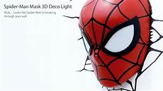 spider man 3d deco light from 3dlightfx spiderman superheroes spiderman 3d led light