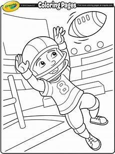 sports colouring pages free 17724 football crayola ca