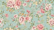 Flower Illustration Wallpaper by Fondo Patr 243 N Vintage De Flores Papel Pintado Cl 225 Sico