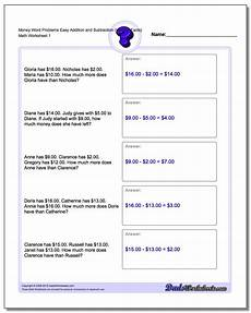 money equations worksheets 2143 money word problems