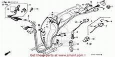 honda sh75 scoopy 1987 h spain wire harness schematic partsfiche