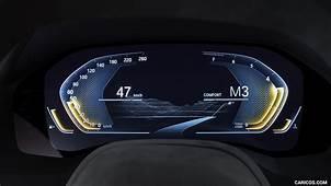 2017 BMW 8 Series Concept  Digital Instrument Cluster