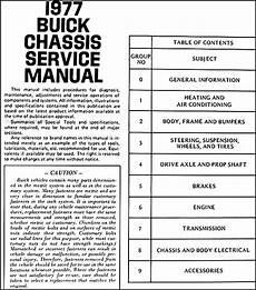 car maintenance manuals 2004 buick regal user handbook 1977 buick repair shop manual original all models