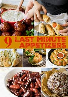 9 last minute appetizers i wash you