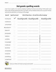 free printable 3rd grade worksheets word lists and activities page 5 of 45 greatschools
