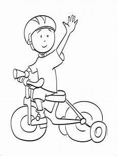 caillou coloring lesson coloring page coloring