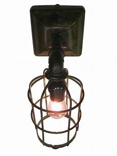 industrial cage wall sconce at 1stdibs