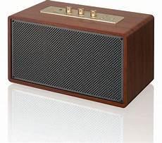 sandstrom scbts17 wireless bluetooth speaker wood fast