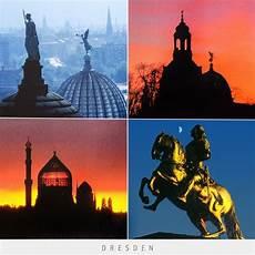 postkarte dresden kunstakademie frauenkirche yenidze