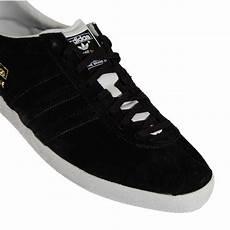 adidas originals gazelle og suede black mens shoes from
