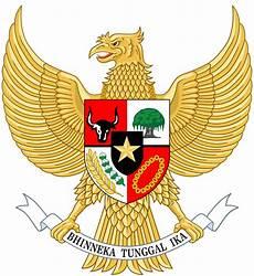Lambang Negara Indonesia Bahasa Indonesia