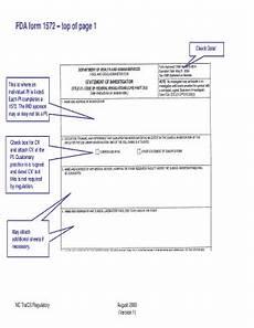 fillable fda form 1572 edit online download best legal