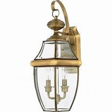 quoizel 2 light newbury outdoor wall lanterns antique