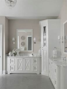 Traditional All White Bathroom Ideas by Transitional White Master Bathroom Beck Allen Cabinetry