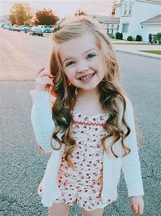 little girl hairstyle long hair curls curled wavy beach waves in 2019 little girl hairstyles