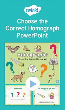 homographs interactive powerpoint students will choose the correct homograph in this fun