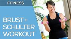 Fitness Anf 228 Nger Workout F 252 R Brust Schulter Arme