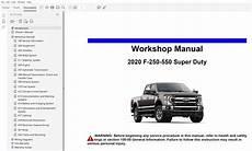 online service manuals 1992 ford f250 auto manual 2020 ford f250 f350 f450 f550 repair manual