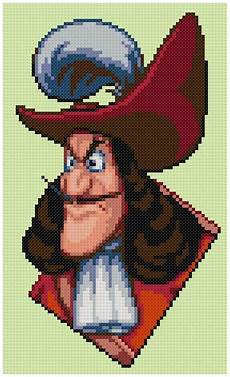Captain Hook Malvorlagen Pdf Pdf Cross Stitch Pattern 0029 Captain Hook Pan