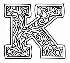 bunting letter k urban threads unique and awesome embroidery designs alphabet collections