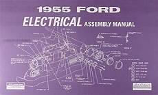 1955 Ford Car Electrical Wiring Assembly Manual Wiring