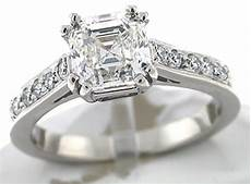 asscher cut engagement rings are the hottest thing in