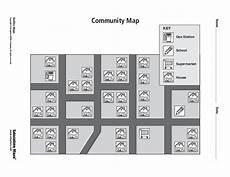 worksheets for kindergarten in 18604 community map graphic organizer for kindergarten 2nd grade lesson planet