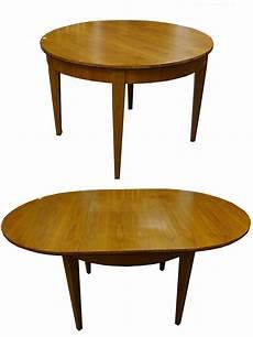 esstisch tisch rund biedermeier stil kirschbaum furniert
