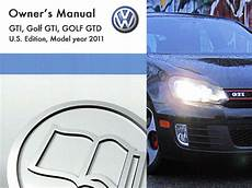 free car repair manuals 2011 volkswagen gti parental controls 2011 volkswagen gti owners manual in pdf