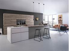 Cuisine Design Cuisine Design Sans Poign 233 Es Blanc Bois