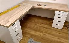 build the corner desk yourself to build a simple cheap